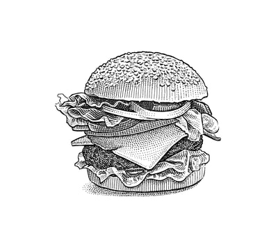 Hedcut illustrations by visual artist Noli Novak for Wall Street Journal A-Hed.