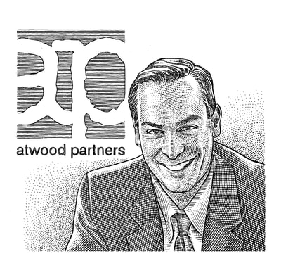 Hedcut illustration by visual artist Noli Novak for corporate and editorial clients.
